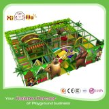 Daycare Big Kids Playground Equipment with Climbing Frame