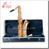 High F# Eb Key Golden Lacquer Finish Musical Instrument Alto Saxophone (SP1011G)