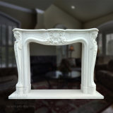 Granite Stone Carving Home Decoration Sculpture Statue Heater Marble Fireplace