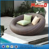 Hot Sale PE Rattan Rattan Round Daybed