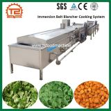 Vegetable Blanching Machine/Immersion Belt Blancher Cooking System