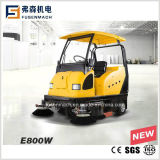 1900mm Ride on Sweeper E800W Cleaning Efficiency12000m2/H
