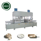 Hghy Good Price Sugarcane Bagasse Pulp Paper Plate Making Machine
