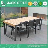 Textile Dining Set Dining Chair Stackable Chair Sling Dining Chair Modern Dining Set (Magic Style)