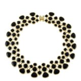 Enamel Maxi Collar Choker Necklaces for Women