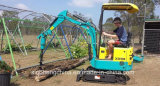 800kg Small Digger Crawler Excavator with Auger Attachments Xn08