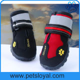 Dog Shoes with Reflective Velcro and Rugged Anti-Slip Sole