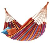 Hot Sales Multicolor Cotton Single Hammock with Pillow