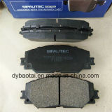 100% Tested Auto Spare Parts Car Brake Pad Sets D1210 for Toyota