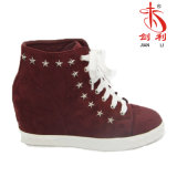 Classic England Style Casual Shoes Women Shoes with Five-Pointed Star (SN500)