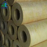 Inner Dia 18-90 100-200 200-900 mm Rock Wool Insulation Pipe, Mineral Wool Heat Resistant Materials Rock Wool Tube