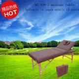 Deluxe Wooden Portable Massage Table with Adjustable Backrest