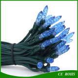 Solar Blue 50 LED Ice Bar String Lights for Christmas Party Wedding Decoration