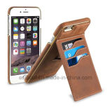 Leather Phone Case Back Cover with Card Slots for iPhone6/6plus/7/7plus