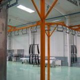 Automatic Liquid/Powder Coating Spray Production Line with Touch Screen Control