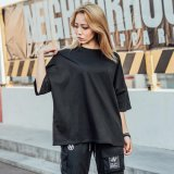 Healong Simple Clothing Wholesale Sport Gym Shirt Fashion Wear Women Custom Cheap T Shirt