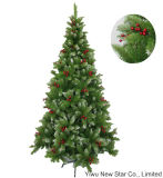 Green with Berry PVC Big Christmas Tree