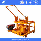 Cheap Mobile Concrete Hollow and Solid Block Making Machine in Haiti
