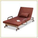 Travel Folding Bed Designs, Metal Folding Guest Bed Factory Direct Sell