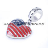Fashion Hot Sale USA Flag Charm Promotion Jewelry