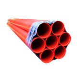 ED Paint for Automatic Q235 Fire Sprinkler System Steel Pipe ASTM A795 Red Powder Coated Steel Pipe for Fire Fighting