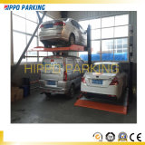 Double Deck 2700kg Hydraulic Two Post Auto Car Parking Lift for Garage Use