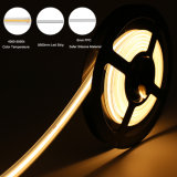 4000K 8mm 6W 24V IP67 240LEDs/M LED Strip Light Waterproof COB LED Light Strip for Indoor and Outdoor Decorative Lighting