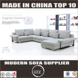 Leisure U Shape Sectional Fabric Sofa (Germany)