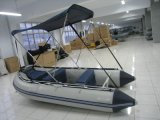 Sunshade Inflatable Fishing Boat with Canopy