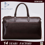 Genuine Leather Duffle Bag Factory Fashion Design Men Travel Handbags