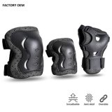 Top Quality Kids Adults Protective Gear Set Roller Skating Skateboard BMX Scooter Cycling Knee Elbow Wrist Pads