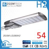 LED Modular Deisgned 280W Shoebox LED Light for Parking Lot Lighting