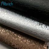 China Fuax Leather Factory Furniture Leather Decorate PVC Rexine Upholstery Leather Fabric