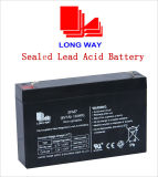 6V7ah Sealed Lead-Acid Battery Rechargeable Battery