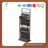 Customized Commercial Metal Wine Rack for Wine Store