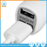 Mobile Phone 5V/2.1A Electric Dual USB Car Travel Charger