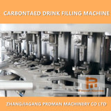 8000bph Automatic Sparking Water / Carbonated Drink Filling Machine