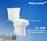 Siphonic Two Piece Water Closet with Standing Floor Way (CL-046)