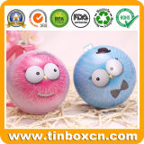 Small Metal Tin Ball with Diameter 70mm for Chocolate Candy