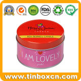 Essential Mini Tin Candle Boxes for Birthday, Travel Tin Cans
