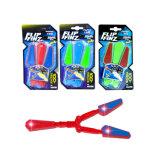 New Hot Kids Flip Finz Butterfly Knife Toy Flash Light Fidget Spinner Toy