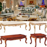 Wood Fabric Sofa Set for Living Room Furniture (510A)