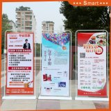 Door Shape 80*180cm Wide Display Stand for Advertising Display Banner Stand