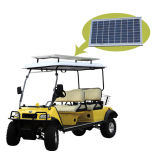 Solar Panel Golf Buggy Utility Vehicle 4seat