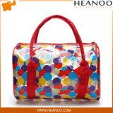 Trend Translucent PVC Transparent Plastic Clutch Purse Bag Beauty Handbag
