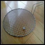 with Handle Stainless Steel Barbecue BBQ Grill Wire Mesh Net