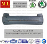 Rear Auto Bumper for Skoda Fabia From 2007 (5JD807421B)