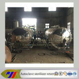 Double Tank Rotary Autoclave Sterilizer Retort with Hot Water Spray