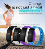 0.66′′oled Bluetooth Smart Silicone Bracelet with Heart Rate Monitor V66