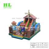 New Design Good Looking Farm Couple Scarecrow Inflatable Playground